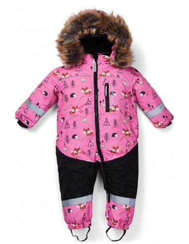 Nordbjorn žieminis kombinezonas, Pink...